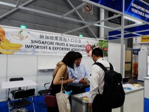 FHA 2018 – Singapore Fruits & Vegetables Importers